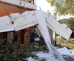 Katastrofa lotnicza w Grecji. 19-latek za sterami