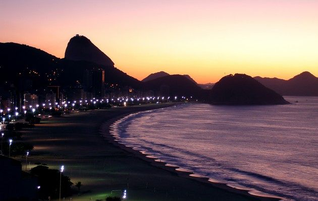 Copacabana, Rio de Janeiro, Brazylia