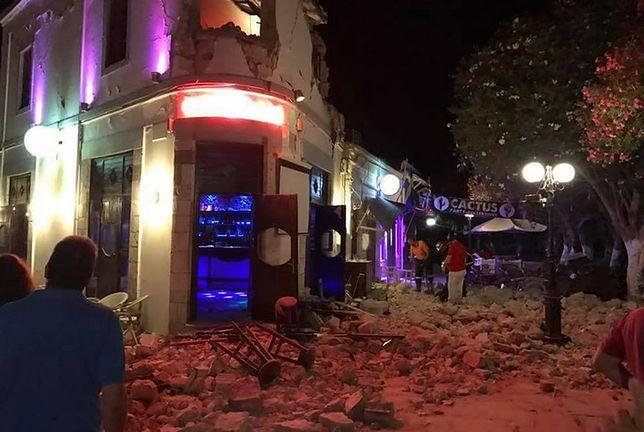 Ofiary śmiertelne trzęsienia ziemi na wyspie Kos