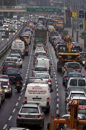 Chaos komunikacyjny w Budapeszcie