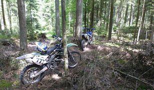 Jaki jest mandat za jazdę motocyklem crossowym lub quadem po lesie?