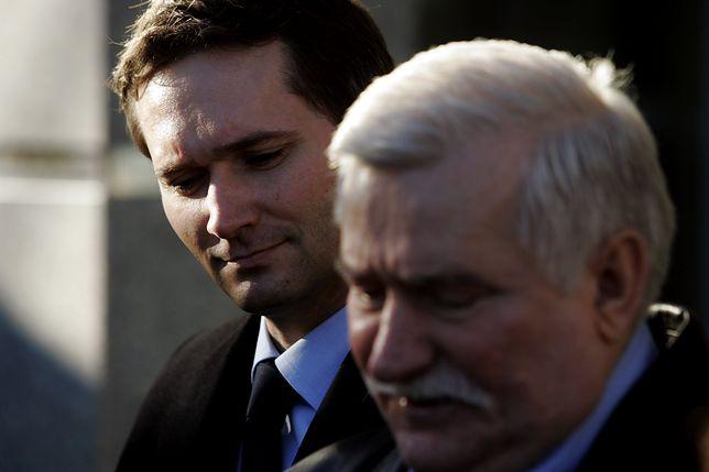 Jarosław Wałęsa nie zgadza się z zarzutami stawianymi swojemu ojcu