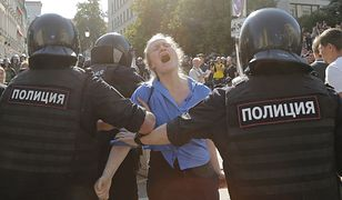 Rosja. Manifestacja opozycji w Moskwie, wg aktywistów zatrzymano ponad 1300 osób