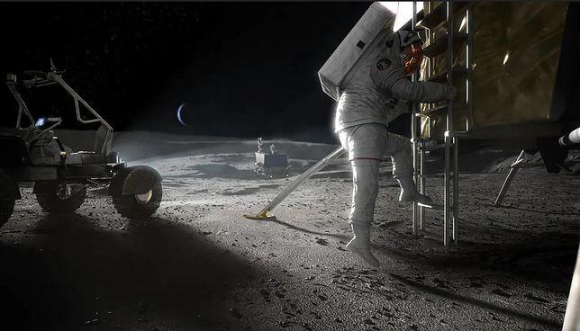 Zdjęcie koncepcyjne misji Artemida