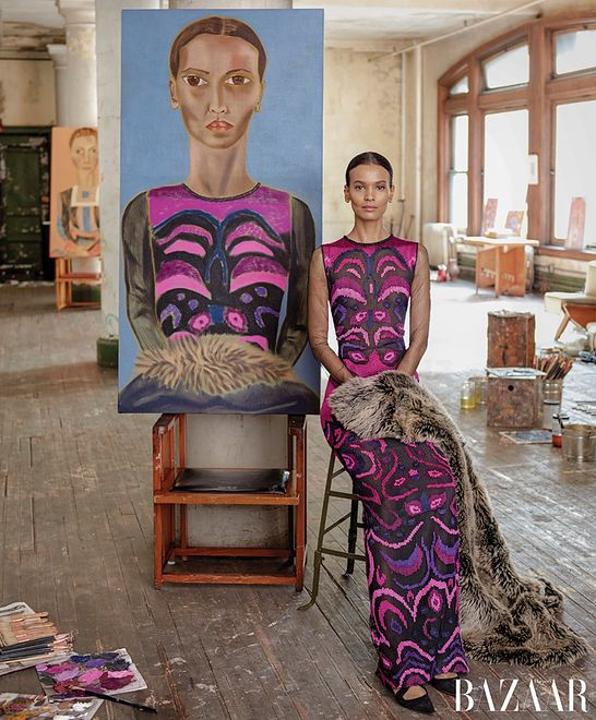 "Gwiazdy mody w ""Harper's Bazaar US"""