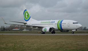 """Przymusowe lądowanie samolotu Transavia. Pasażer krzyczał """"Allahu Akbar"""""""
