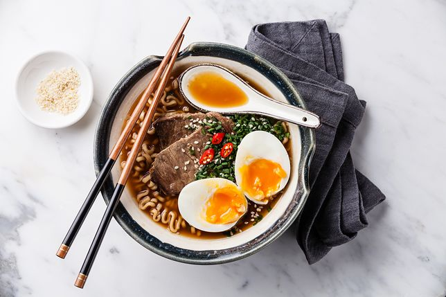 Ramen to odżywcza zupa japońska