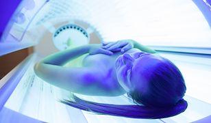 Nieodpowiedzialne korzystanie z solarium może skutkować nawet nowotworem skóry