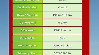 Aplikacje (HTML 5) w Plasma Active