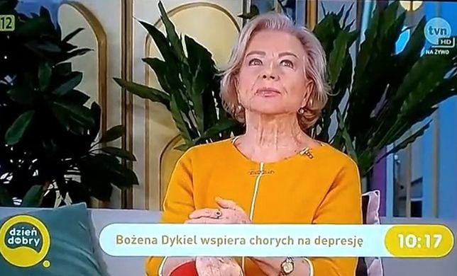 """Bożena Dykiel wywołała konsternację wśród prowadzących i widzów podczas wizyty w """"Dzień Dobry TVN"""""""