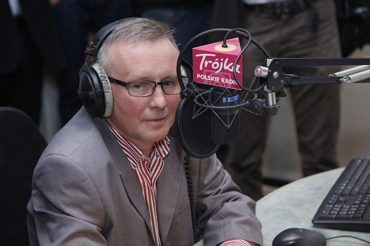 Piotr Baron jest jednym z nielicznych, dawnych, dziennikarzy Trójki, którego wciąż można posłuchać na antenie PR