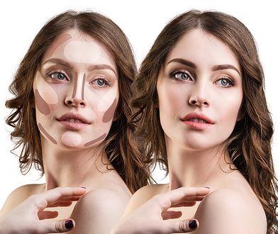 Konturowanie twarzy pozwala na zmianę rysów twarzy