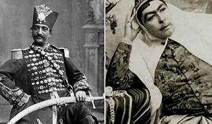 Szach Iranu Naser ad-Din Szah Kadżar i jego osobliwej urody harem