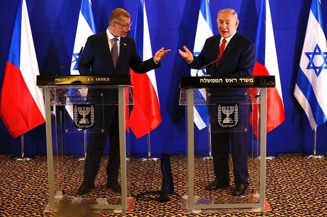 Andrej Babisz i Benjamin Netanjahu