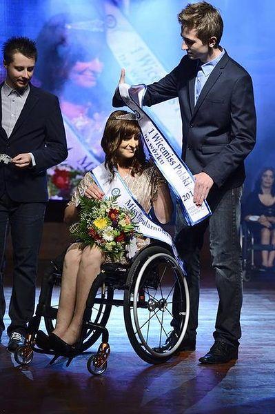 I Wicemiss Polski na wózku 2014 - Beata Jałocha