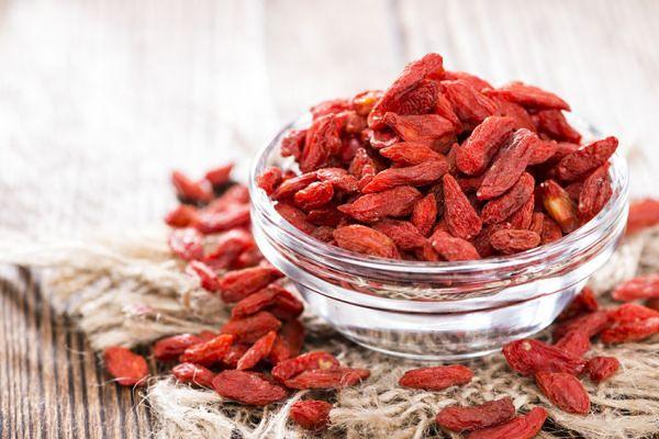 Jagody goji - owoce pełne zdrowia
