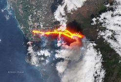 Erupcja Cumbre Vieja. Miasto wymazane z mapy. Zniknęło pod lawą