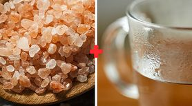 Picie wody z solą na czczo - sposób na oczyszczenie organizmu