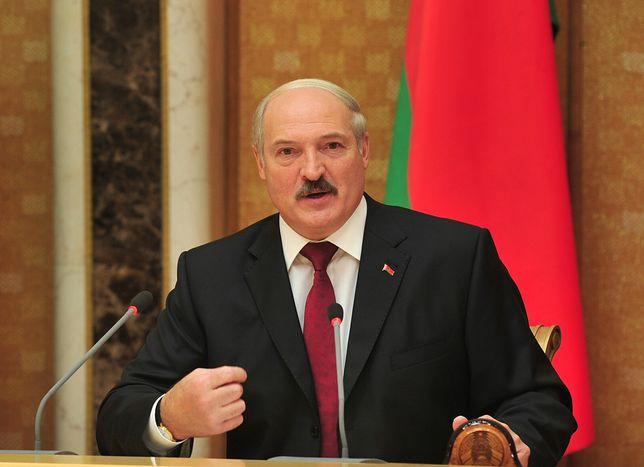 Alaksandr Łukaszenka krytykuje Zachód