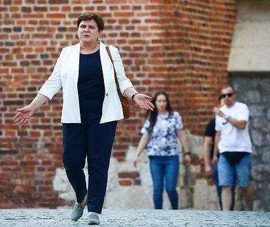 Beata Szydło nie chce głosować za swoim raportem. Była premier ma problem