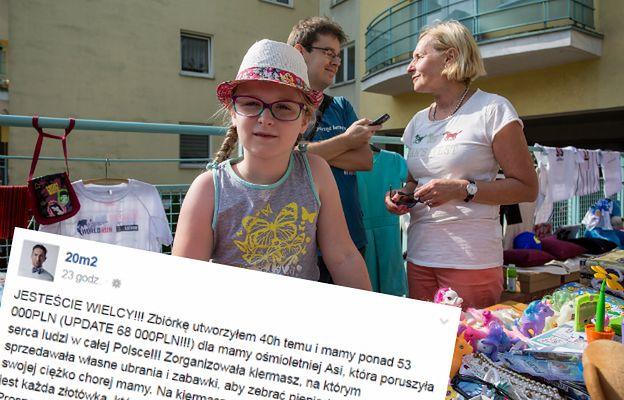 To nie koniec kiermaszu Asi z Poznania! Trwa zbiórka w internecie!