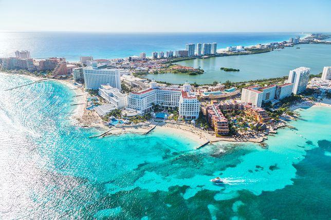 Cancun to miejsca dla wielbicieli plażowania