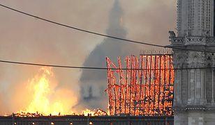 """Katedra Notre Dame w ogniu. """"Nasza Pani"""" przechodzi do historii"""