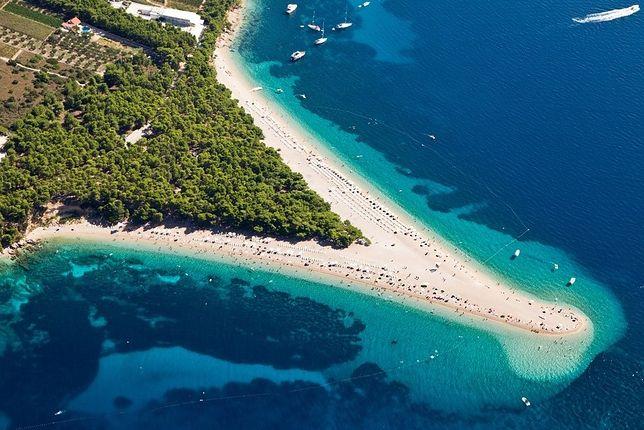Wczasy na wyspie Brač, Chorwacja - Zlatni Rat