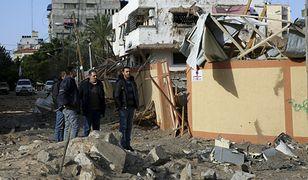 W Strefie Gazy ucierpiało 7 osób