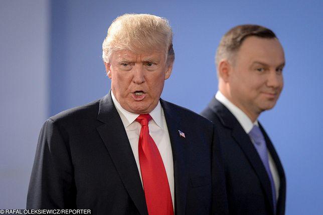 Donald Trump i Andrzej Duda