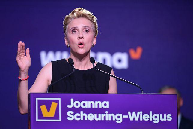 Joanna Scheuring Wielgus.