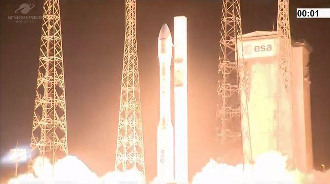 Porażka misji rakiety Vega. Satelity SEOSAT-Ingenio i TARANIS utracone [wideo]
