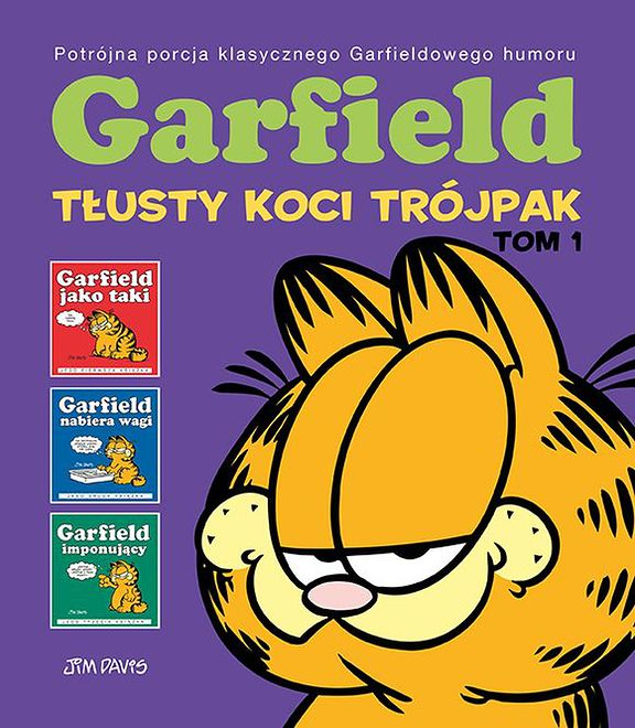Garfield: Tłusty koci trójpak