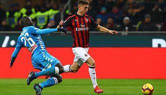 7bfbc33fe Puchar Włoch: Krzysztof Piątek ma dostać szansę w pierwszym składzie AC  Milan