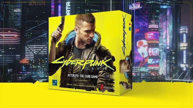 Cyberpunk 2077 – Afterlife: The Card Game to nowa gra karciana od CD Project RED i CMON