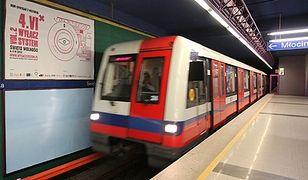 Testy składów Metropolis na II linii metra