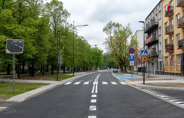 Warszawa. Kolejna część al. Zjednoczenia już gotowa
