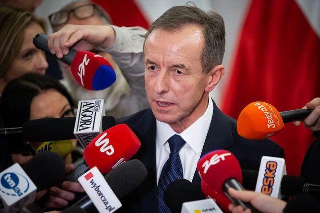 Marszałek Senatu Tomasz Grodzki