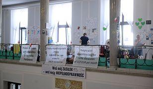 Protest w Sejmie trwa od ponad miesiąca