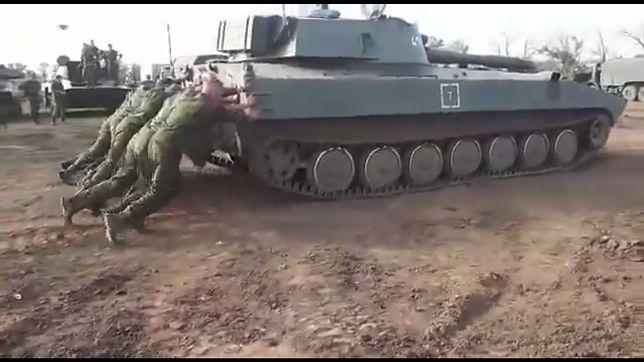 Rosyjscy żołnierze zaskoczyli internautów swoją zaradnością