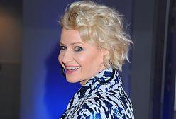 Małgorzata Kożuchowska w letniej sukience. Andrzej Duda jest za