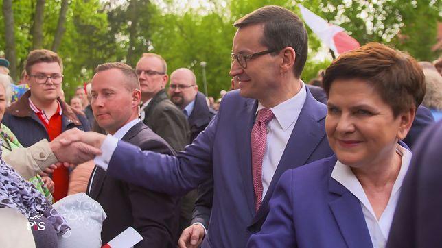 """TYLKO W WP. Morawiecki i Szydło apelują do rodzin. """"To powrót do stylu kampanii z 2015 r."""""""