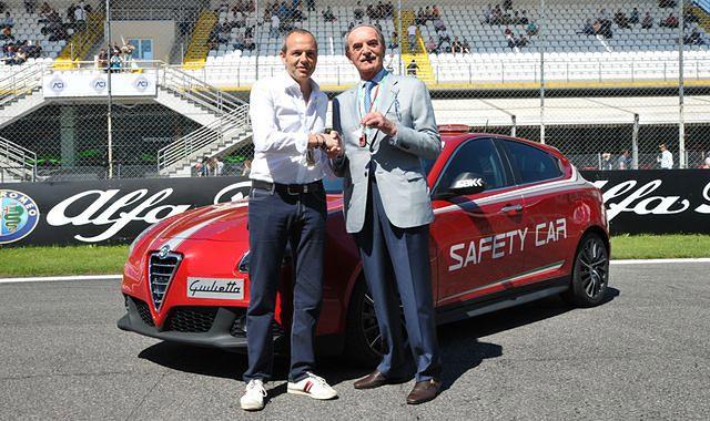 Alfa Romeo sponsorem toru Monza