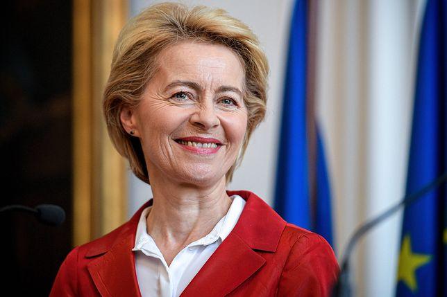 Ursula von der Leyen jest pierwszą kobietą na stanowisku szefa KE