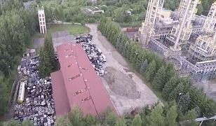 Gorlice: podejrzane beczki w byłej rafinerii. To niebezpieczne odpady