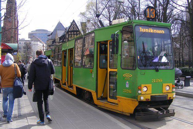 Remont torowiska pomiędzy Ratajami a AWF-em - tramwaje pojadą objazdem