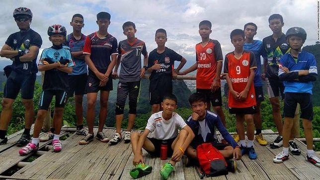Koniec dramatu w jaskini w Tajlandii. 12 chłopców i ich trener uratowani