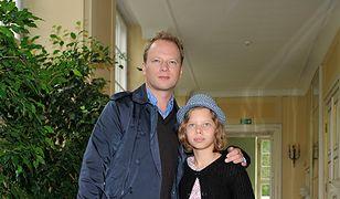 Maciej Stuhr jest tatą Matyldy