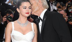Selena Gomez i Bill Murray na ceremonii otwarciu festiwalu w Cannes