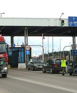 Wybuch na przejściu granicznym z Białorusią